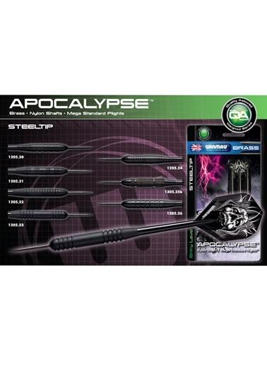 Apocalypse Brass Çelik Uçlu Dart-22 Gram-Winmau